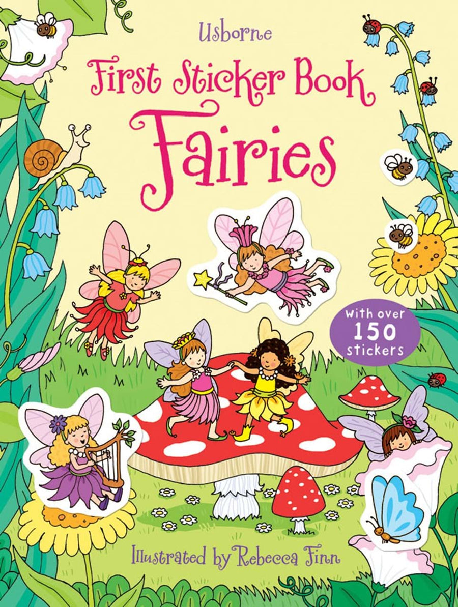 Carte cu abtibilduri - First sticker books Fairies
