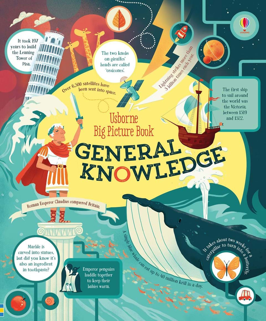 Enciclopedie ilustrata - Big picture book of general knowledge - Usborne