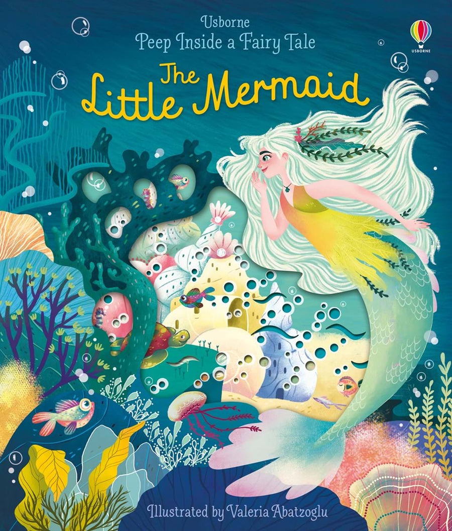 Carte cu clapete - Usborne - Peep Inside a fairy tale: The Little Mermaid