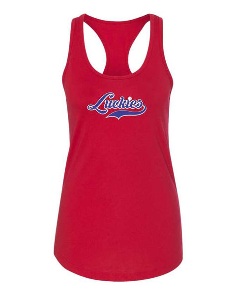 Ladies Next Level Racer Back Tank #1533