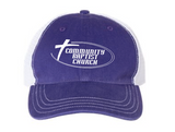 Richardson - Garment-Washed Trucker Cap - 111
