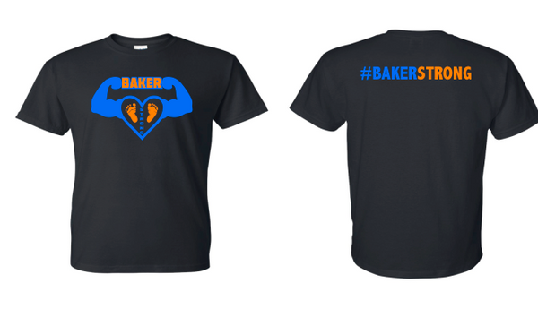 Baker Strong Gildan - DryBlend® Youth T-Shirt - 8000B