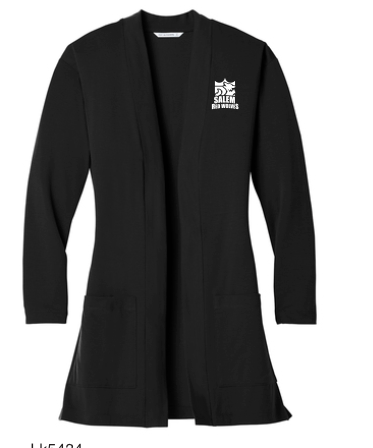 LK5434 Port Authority ® Ladies Concept Long Pocket Cardigan