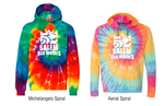 Dyenomite - Youth Multi-Color Swirl Hooded Sweatshirt - 854BMS