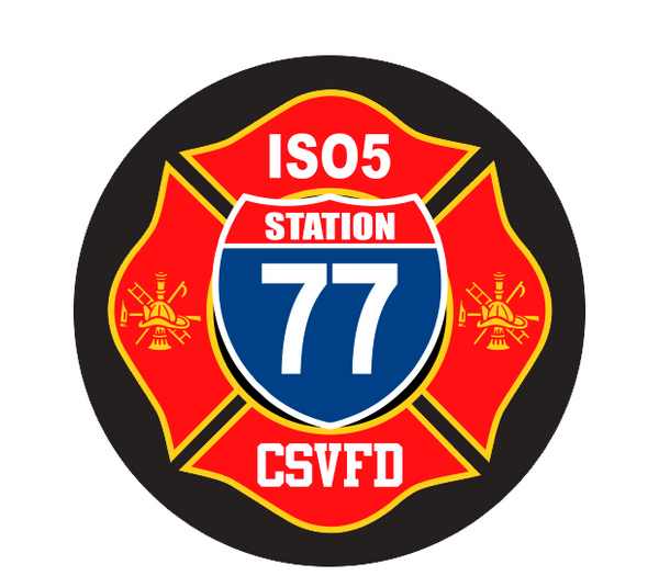 Central Surry Fire Decal