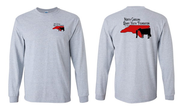 NC Dairy Youth Long Sleeve Shirt Adult & Youth 2400 2400B
