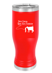 NC Dairy Youth LTM973 - Red 20 oz.  Polar Camel Pilsner w/Clear Lid