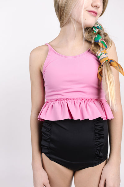 Youth Peplum Top