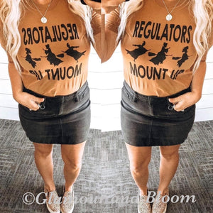 Regulators Mount Up Short Sleeve T-shirt