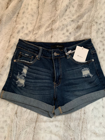 KanCan Distressed Shorts