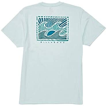 Billabong Men's Dawn Patrol Short Sleeve T-Shirt Blue Medium
