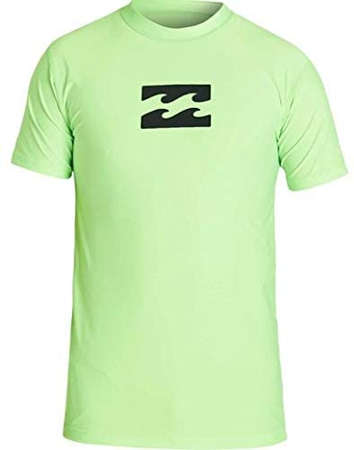 Billabong Boys' All Day Wave Performance Fit Short Sleeve Rashguard