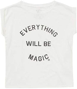 Billabong Girls' Girls' Be Magic Tee, (WHT) White