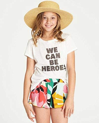 Billabong Girls Criss Cross Promise Short, (MUL) Multicolored, Girls Size Small (7/8)