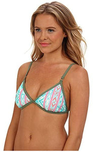Billabong Women's Kuta Bralette Top Aquamarine