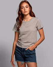 Load image into Gallery viewer, RVCA Women Olk T-Shirt Grey M/10