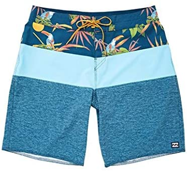 Billabong Boy's Tribong Pro Boardshort, (IND) Indigo, Boys Size 27/14