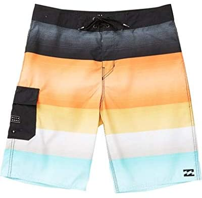 Billabong Kid's (Little Boy's) All Day Og Stripe Boardshorts, (LVA) Lava