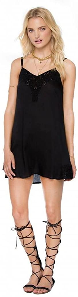 Amuse Society Juniors Silva Dress, (BLK) Black, Size Medium