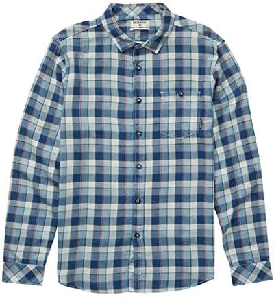 Billabong Boy's Freemont Flannel Shirt, (BLU) Blue