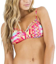 Load image into Gallery viewer, Billabong Womens Maya Bay Bralette Bikini Top, Multi, Medium
