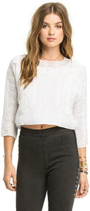 Amuse Society Juniors Rayne Woven Top