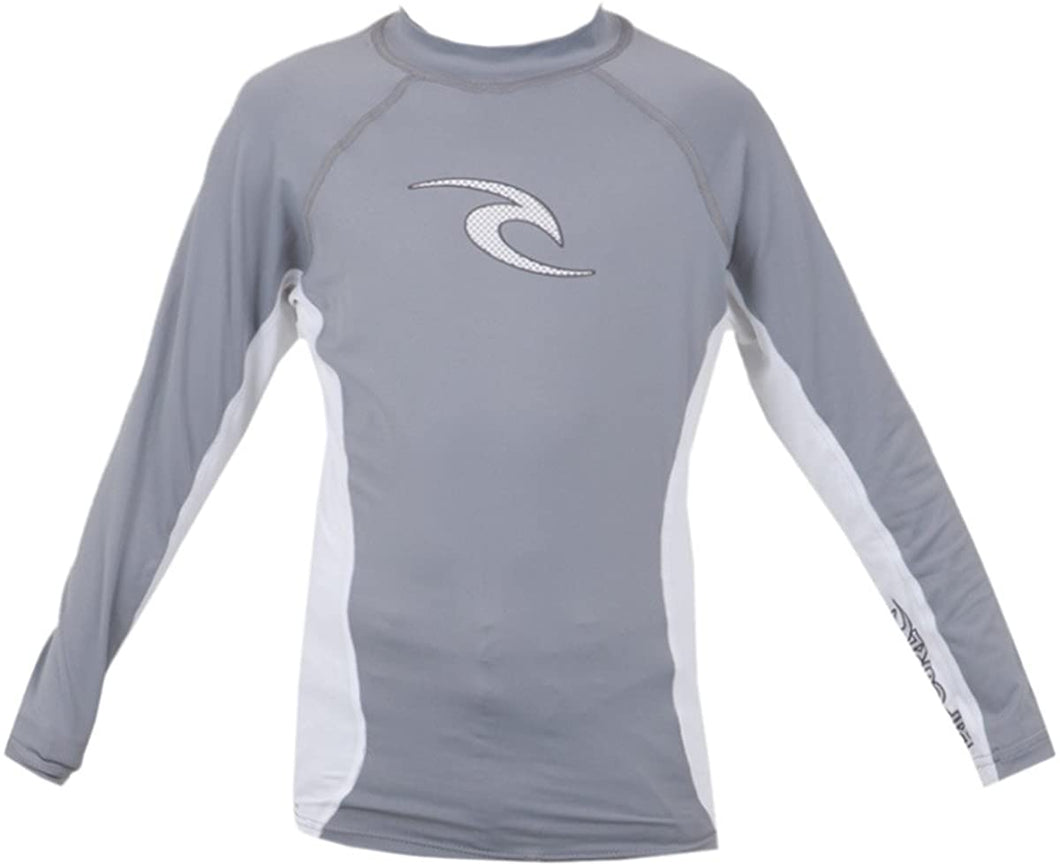 Rip Curl Youth Wave Long Sleeve Rash Guard Shirt