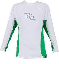 Load image into Gallery viewer, Rip Curl Youth Wave Long Sleeve Rash Guard Shirt