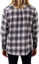 Load image into Gallery viewer, KATIN Men's Nelson Long Sleeve Flannel Shirt, Graphite