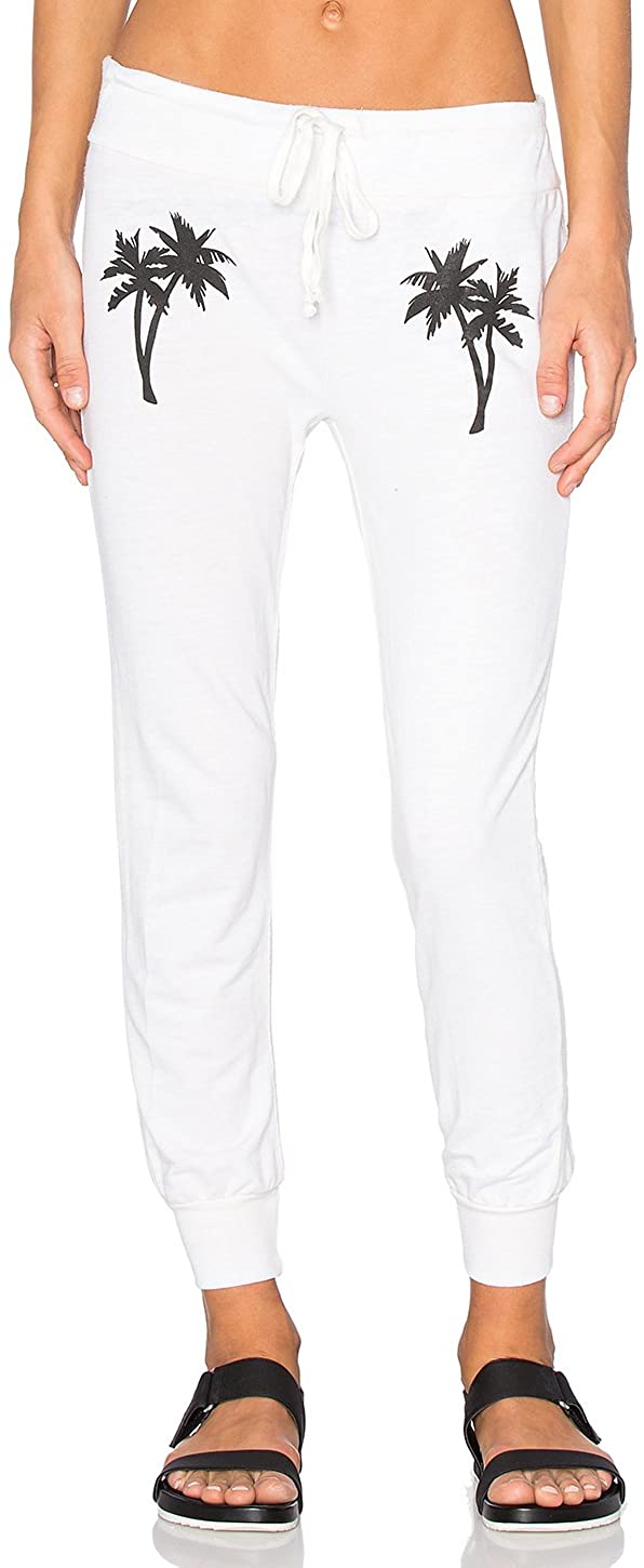 Amuse Society Junior's Dos Palmas Sweatpants, (CBL) Casa Blanca, Medium