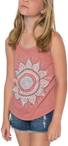 O'Neill Girls Sun Pop Tank Shirt, (SAN) Sand