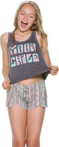O'neill Girls Luna Child Graphic Tank, (SDW), Girls Size Large