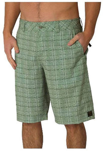 O'NEILL Men's Hybrid Freak Walk Shorts/Board Shorts, Green, Size 31