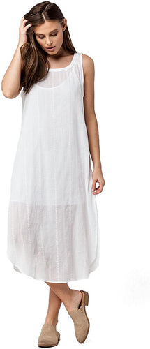 O'Neill Junior's Talin Woven Dress, White, X-Small