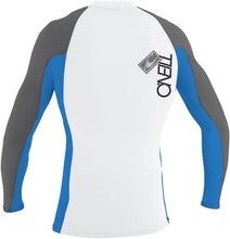 Load image into Gallery viewer, O'Neill Youth Skins Long Sleeve Crew (Metal/Crip)