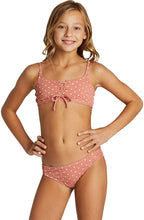 Load image into Gallery viewer, Billabong Big Girls' Dot Daze Tali Two Piece,10,Coco Bliss