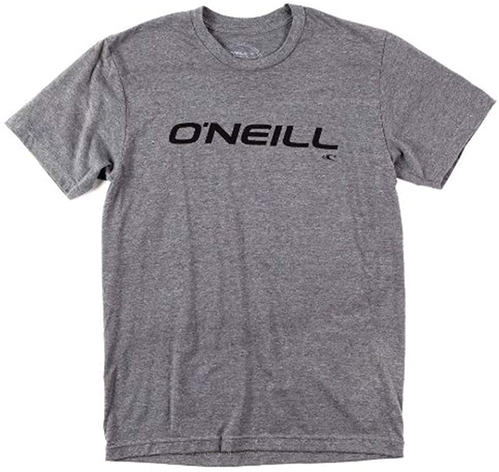 O'neill Only One S/S Screen Tee, Medium Heather Grey, Small