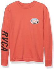 Load image into Gallery viewer, RVCA Boys' Cortex Long Sleeve T-Shirt