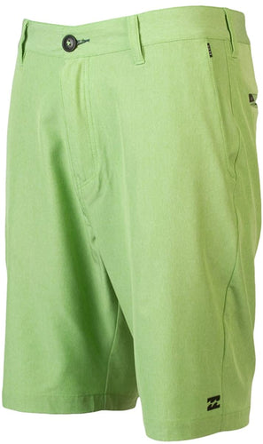 Billabong Boy's Crossfire PX Submersible Walk Short/Board Short, (NEL) Neo Lime, Boys Size 29/18 - Indi Surf