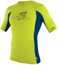 Load image into Gallery viewer, O'Neill Youth Premium Skins Upf 50+ Short Sleeve Rash Guard