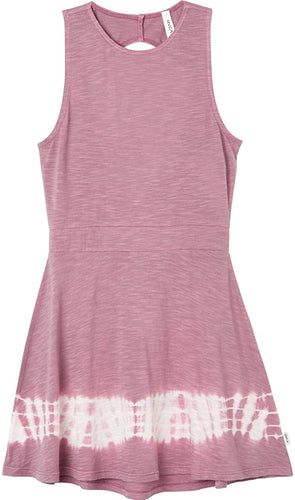 RVCA Juniors' Shandon Jersey Open-Back Dress, (PRO) Primrose, Size Medium