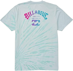 Billabong Men's Arch Tie-Dye Short Sleeve