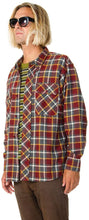 Load image into Gallery viewer, RVCA Men's New Natural Long Sleeve Woven Shirt