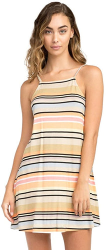 RVCA Women's Hyacinth Stripe Dress, (CLY)