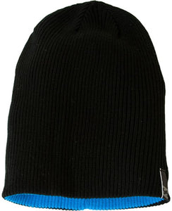 Billabong Men's Monument Reversible Black/Blue Beanie