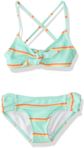 Billabong Girls' Baja Bliss Tali Two Piece Swim Set