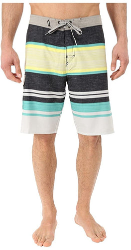 Rip Curl Men's Override Boardshorts, (TEA) Teal & (ORG) Orange Pop