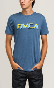 RVCA Men's Third Dimension T-Shirt