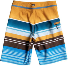 Load image into Gallery viewer, Quiksilver Kids Boy's Everyday Stripe Vee Boardshorts (Big Kids) Artisan Gold Swimsuit Bottoms