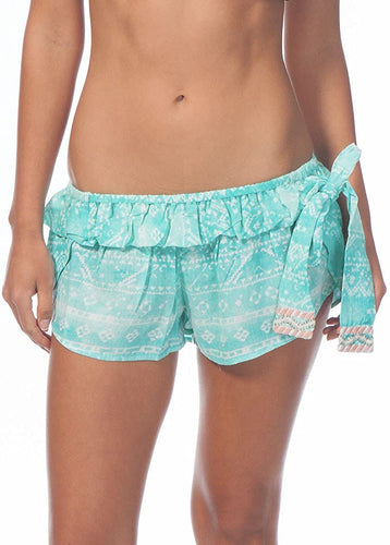 Rip Curl Juniors Sand Dunes Short, Aqua, Size Medium
